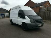 2007 Ford Transit High Roof 350M RWD 2.4 TDCi PANEL VAN Diesel Manual