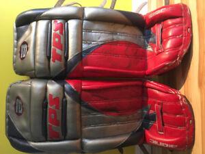 Équipement de gardien de but de hockey sur glace à vendre