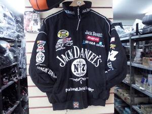 Manteau Jack Daniel's 07 Nascar avec logos grandeur Medium