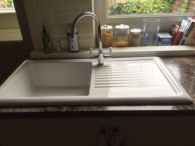 Cream Ceramic Kitchen Sink | in Harrogate, North Yorkshire | Gumtree