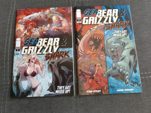 Sea Bear & Grizzly Shark #1, 1st and 2nd Print