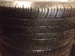 4 Michelin 195/65/15 on rims 5x114.3 Kitchener / Waterloo Kitchener Area image 5