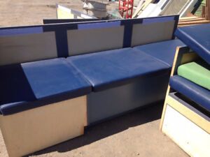 Padded Bench with Underseat Storage
