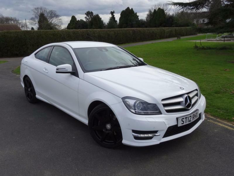 mercedes c class c220 cdi blueefficiency amg sport coupe 2012 12 in ilford london gumtree. Black Bedroom Furniture Sets. Home Design Ideas
