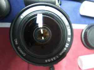 Canon 35mm Single Lens Reflex.