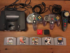 Nintendo 64 Bundle; Controllers, Games and Extras