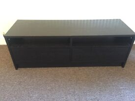 TV Stand - Brown Wood
