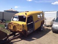 1950 Chevy 1 ton school bus project