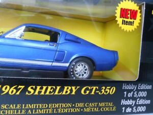 1967 Shelby GT-350 Diecast American Muscle 1:18