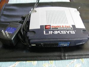 Linksys 8 Port Gigabit  Switch