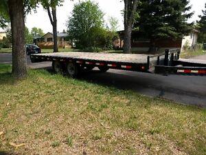 PJ 18 x 8 flat deck trailer