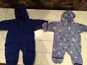 Columbia Down-Filled Snowsuit w/ Bunting Suit