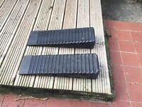 Pair of Caravan / Motorhome levelling ramps