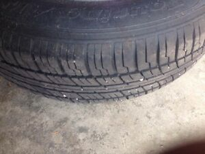 MotoMaster Touring AW/H 205/65R15 94h Complete Set from Honda AC Kitchener / Waterloo Kitchener Area image 1