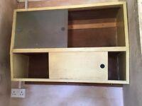 Original 1950/60 kitchen wall unit