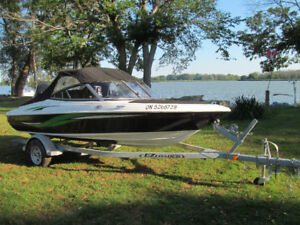 17 ft Boat and Trailer