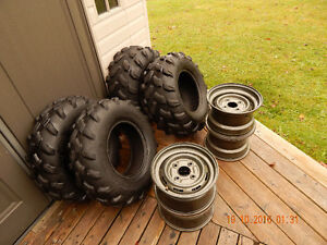 Goodyear Rawhide Grip ATV Tires and Rims