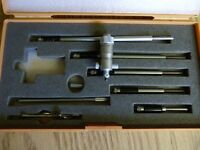 Mitutoyo  internal micrometer  2 inch to 8 inch   No. 141-108