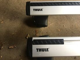Thule cross bar 963 with foot kit for be polo 2012 onwards