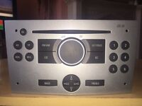Vauxhall astra 2006 cd30 cd player