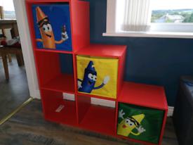 Kids toy storage unit
