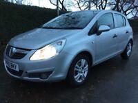 Vauxhall Corsa Energy 1.2 16v 85PS (silver) 2010