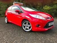 *12 MTHS WARRANTY*2009(09)FORD FIESTA 1.6 ZETEC SPORT 3DR WITH 61K FSH*