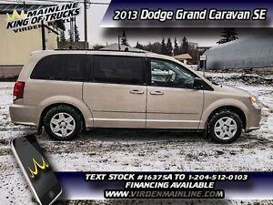 2013 Dodge Grand Caravan SE  - $139.29 B/W