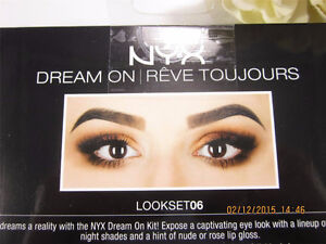 NYX Dream On Look Set 06 Mattes & Shimmer Eyeshadow Palette + 2