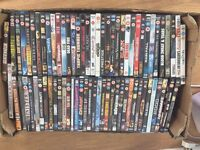 Mixture of 72 DVDs ideal for re-sale car boots etc (lot 1)