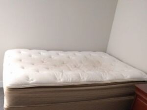 Double Bed, Matress and Box only, no frame