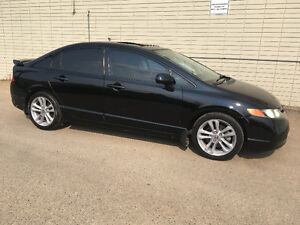 2008 Honda Civic Si Sedan 2.0 VTECH
