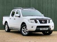 2013 Nissan Navara 2.5 dCi Tekna Double Cab Pickup 4dr (EU5) Pick Up Diesel Manu