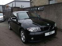 06 56 BMW 116i SPORT SE 5DR BLACK SPORT ALLOYS SPORTS SEATS CLIMATE+PARK
