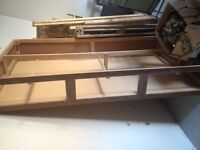 Captains bed single or twin, 3 drawers