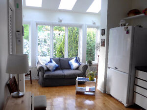 NDG HOUSE SHARE INCL 2 PRIVATE ROOMS FOR MATURE FEMALE ROOMMATE
