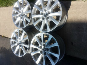MAZDA CX5 FACTORY OEM 17 INCH ALLOY WHEEL SET OF FOUR