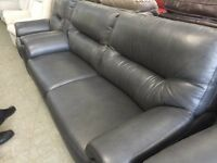 Brand new G plan Washington 3 piece suite. 3 seater sofa and 2 armchairs in Dark grey.