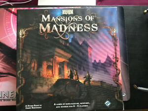 Mansions of Madness 1st edition, Like New