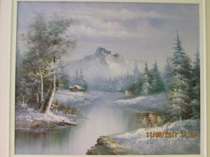 Vintage Original Canadian Signed Oil Painting
