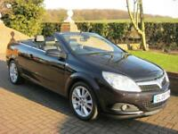 VAUXHALL ASTRA 1.8i DESIGN AUTOMATIC TWIN TOP CONVERTIBLE 2DR 2008 08