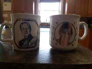 Commemorative Cups like new condition. Peterborough Peterborough Area image 1