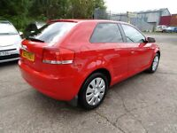 Audi A3 1.6 SPECIAL EDITION (LOW RATE FINANCE AVAILABLE) (red) 2008