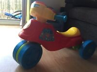 Vtech 2 in 1 trike to bike ride on toy