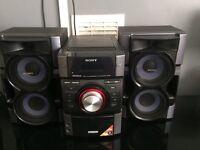 Sony hi-fi mini system