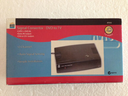 Signal Convertor DVD To TV