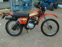 HONDA XL125S IMPORT 1979 TIDY MACHINE