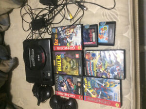 Sega genesis 2 controllers and some games works perfect ! 225OBO