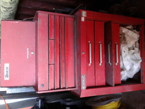 Tool boxes top and bottom