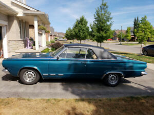 1965 Valiant Signet Convertible
